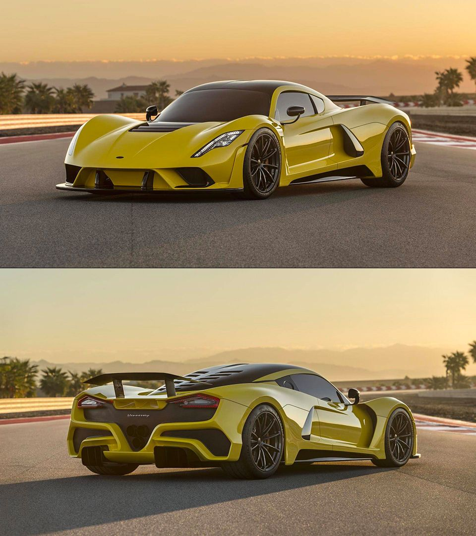 Hennessey Venom F5 Engine Has An Incredible 1,817 Hp