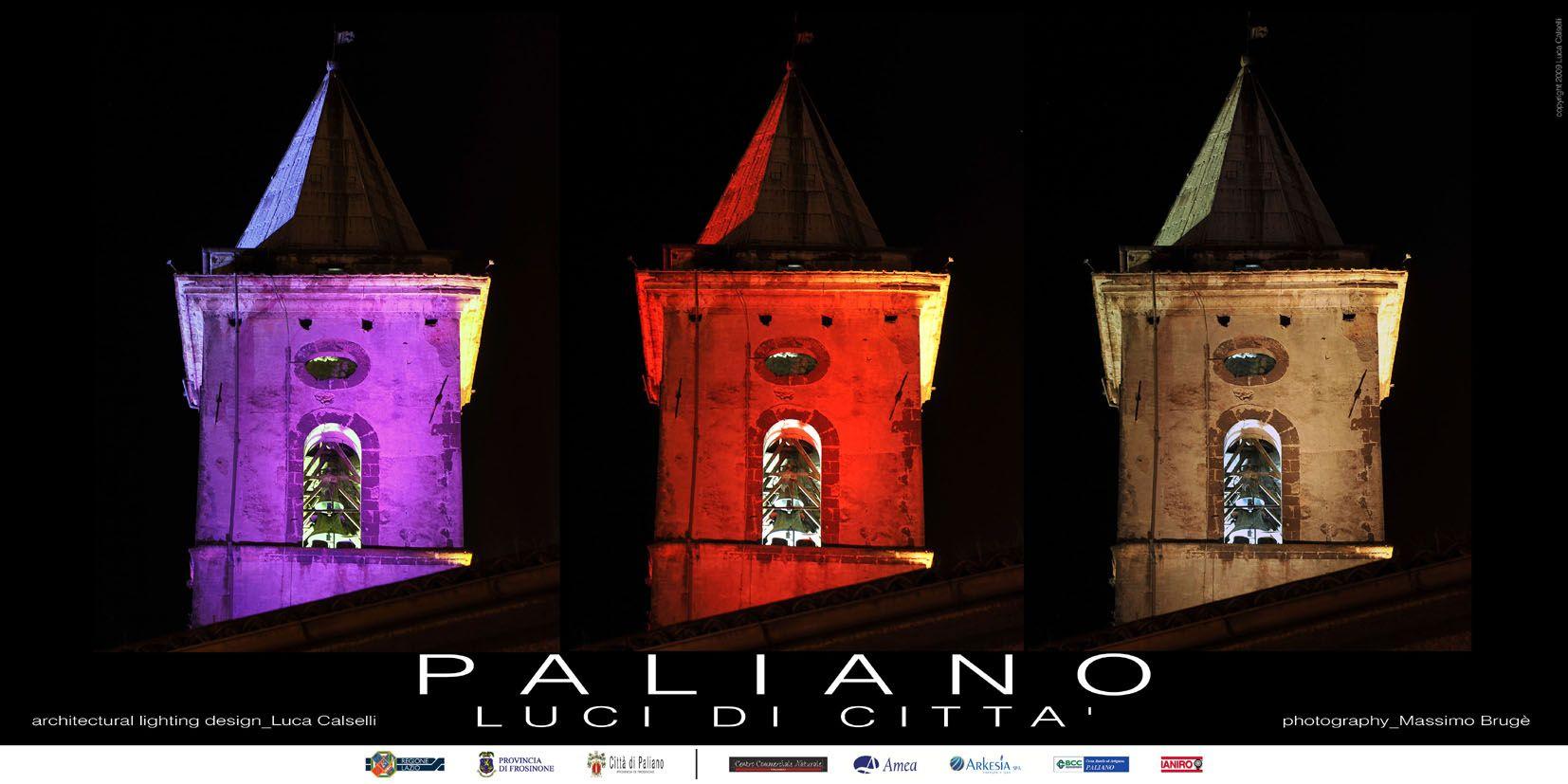 Paliano - Luci di Città