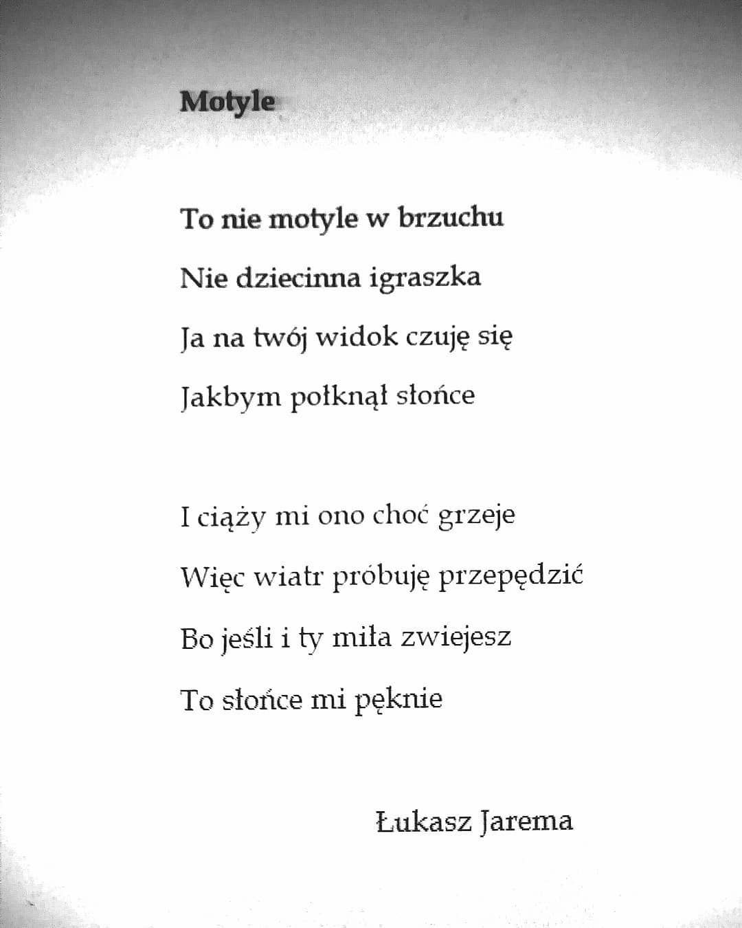 Motylki Poezjasmutnaismutniejsza Poezja Wiersz Wiersze