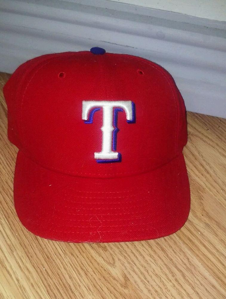 c278dce30d990 Texas RANGERS ALTERNATE Red New Era 59FIFTY Fitted Caps MLB On Field Hat sz  7  NewEra  BaseballCap