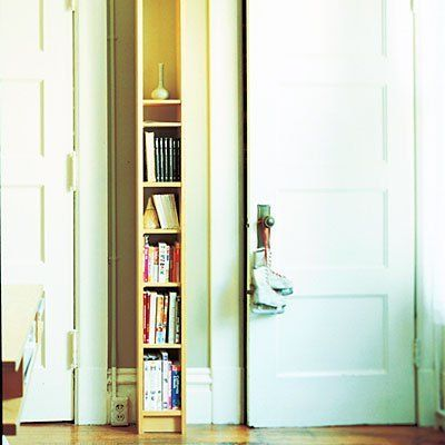 Small Space Solution Narrowest Shelf Ever Small Spaces Narrow Shelves Home