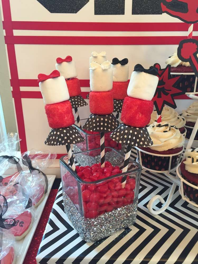 Cheerleading cheer party party ideas cheerleading for Cheerleading decorations