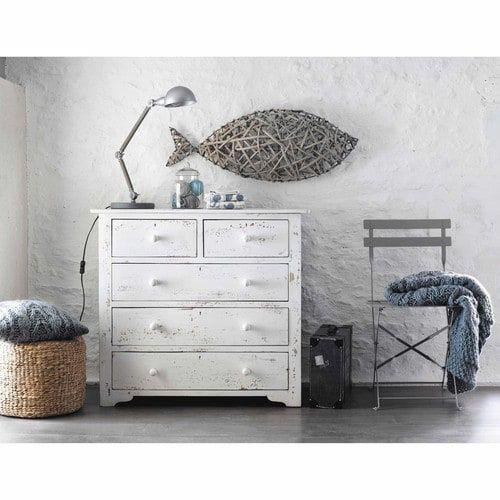 Pouf en jonc de mer tress wall decorations drawers and - Pouf jonc de mer ...