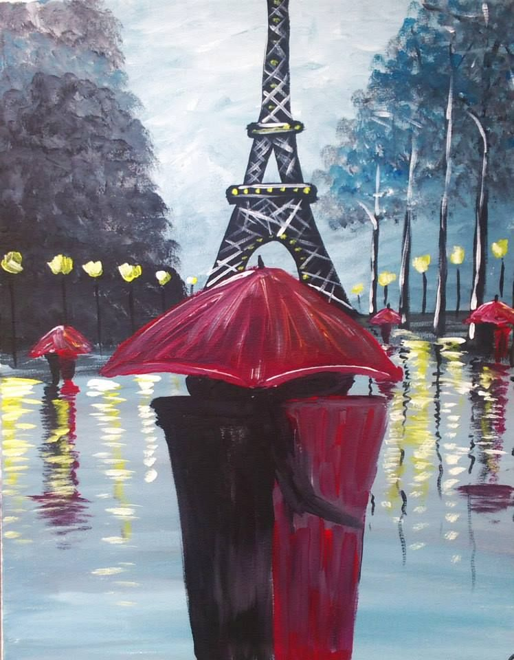 A Rainy Day in Paris Saturday, March 21st 12:00-3:00