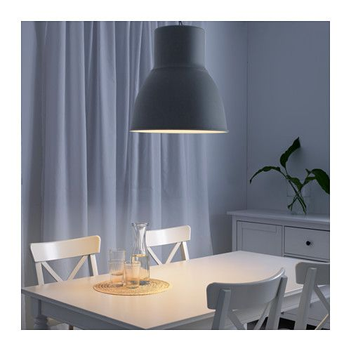HEKTAR Pendant lamp dark gray