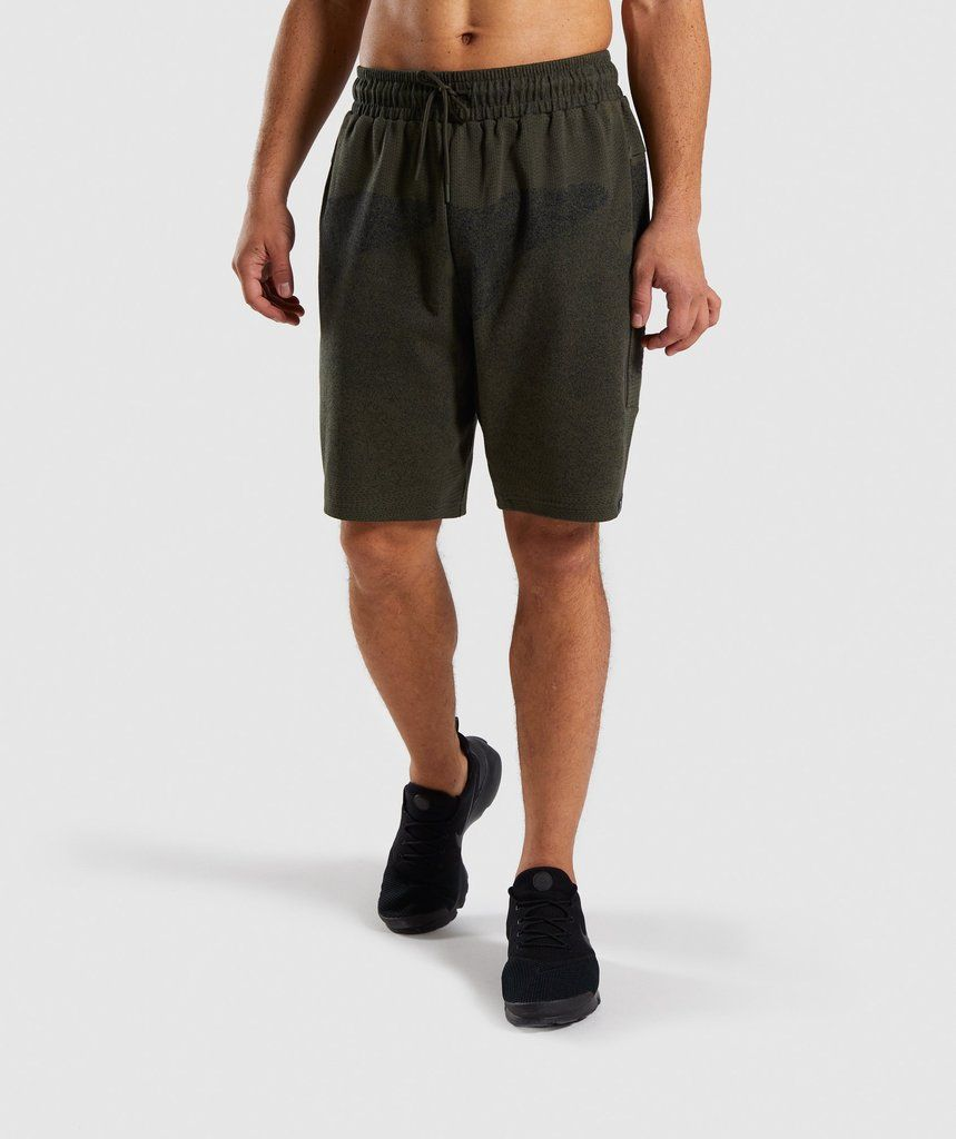 717a83c4 Gymshark Ultra Jacquard Shorts - Woodland Green 1 | Me in 2019 | Gym ...