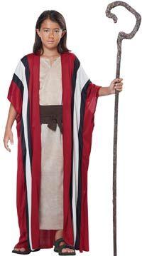 Disfraz De Pastor Moisés Para Niños Disfraces Bíblicos Disfraz De Pastora Traje De Pastor