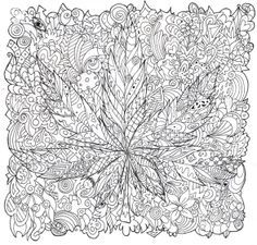 trippy coloring sheets 44 - Free Printable Mushroom Coloring Pages