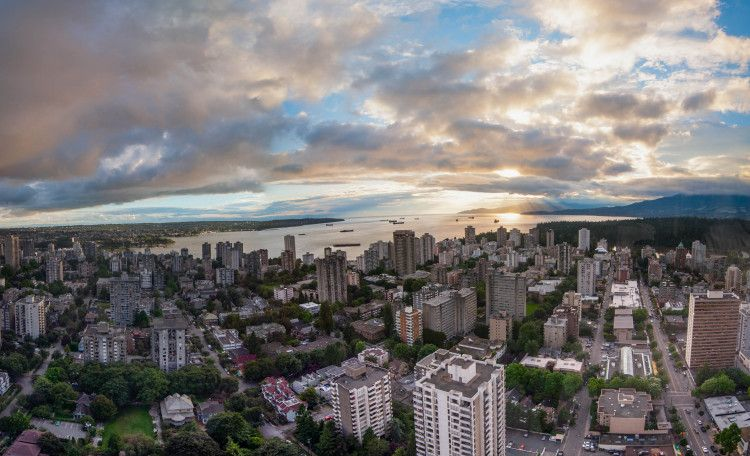 West End and English Bay