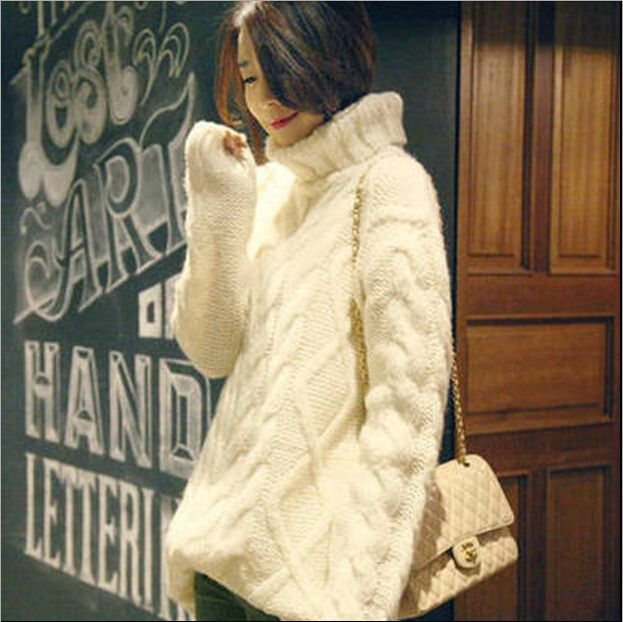 Popular Chunky Cable Knit Sweaters for Women Buy Cheap
