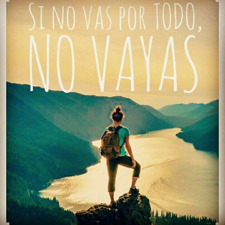 Este es un mundo en el que destaca, el que se arriesga y va por todo,  ...la decisión es solo tuya!!!