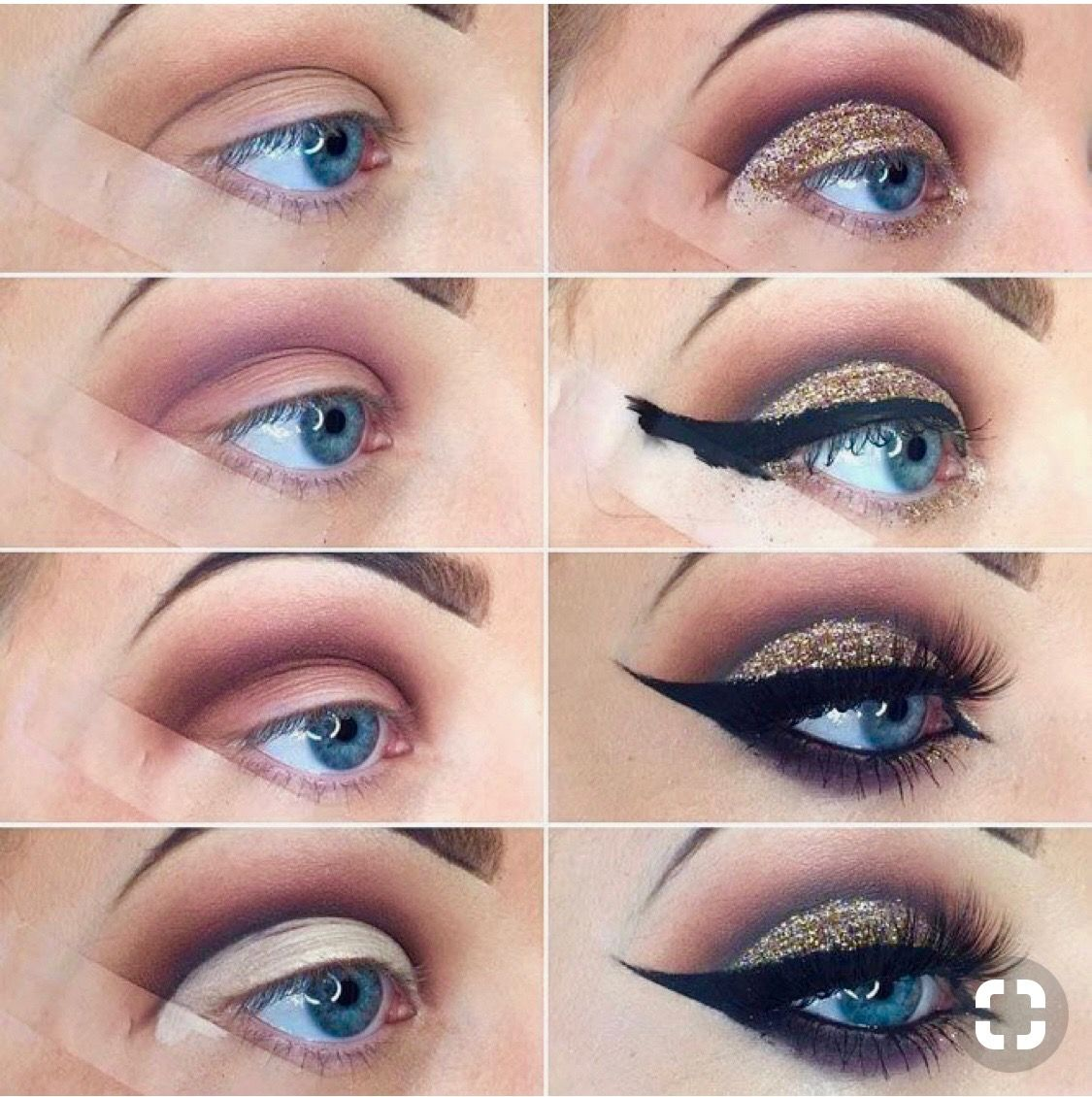 Pin by Mari Alcazar on Makeup Eye makeup steps, Smokey