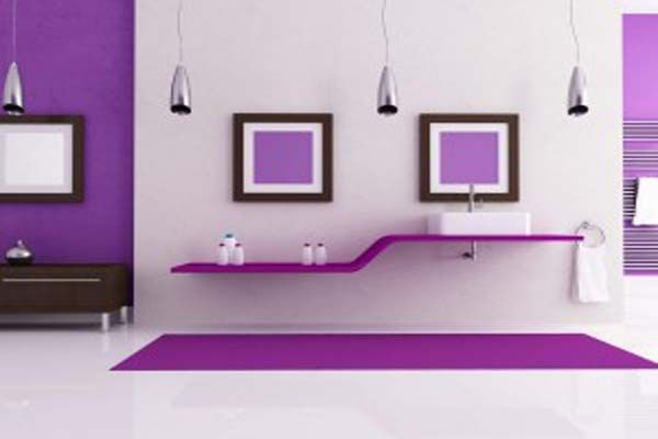 Psychology-of-Color-in-Interior-Design-Purple: Well, purple is just like blue considered a royal color, it gives you the effect of luxury but the psychological effect of purple depends on how cold/ warm it is: Warm purple: can dominate a room and gives more attention, mostly used in accessories to enrich the space. Cool purple: calming and gives a sense of depth. Some believe that living in a purple room can lead to suicide, but I think if you like purple it will rather please you.