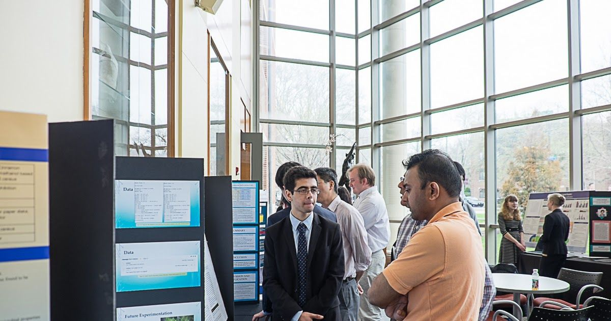 DVSF medalists share their research with visitors