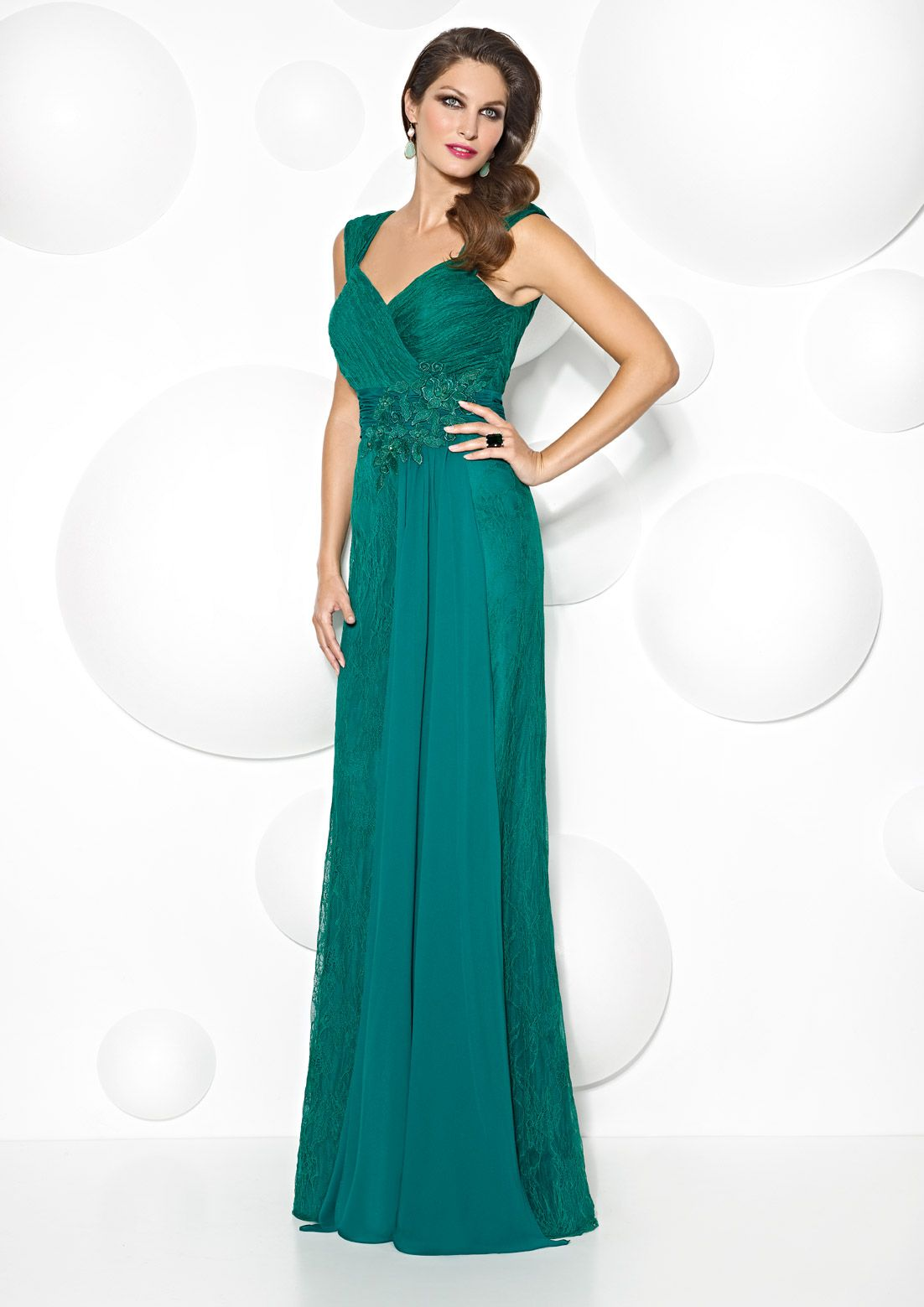 Collection 6843   Cabotine   Mujer   Pinterest   Vestido largo ...