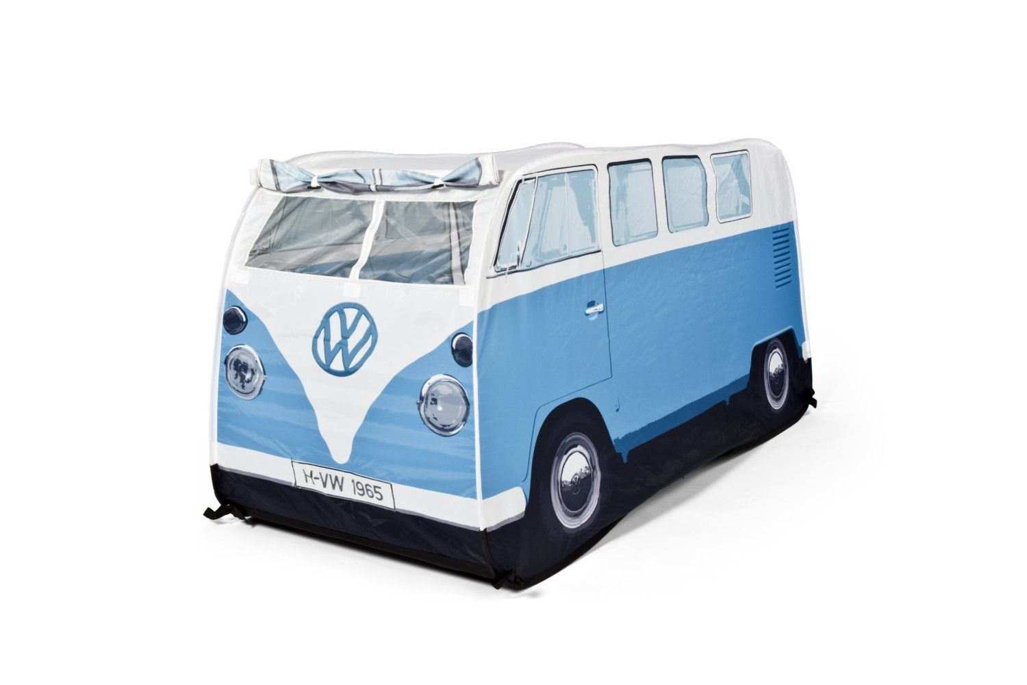 vw camper van pop up play tent for kids red. Black Bedroom Furniture Sets. Home Design Ideas