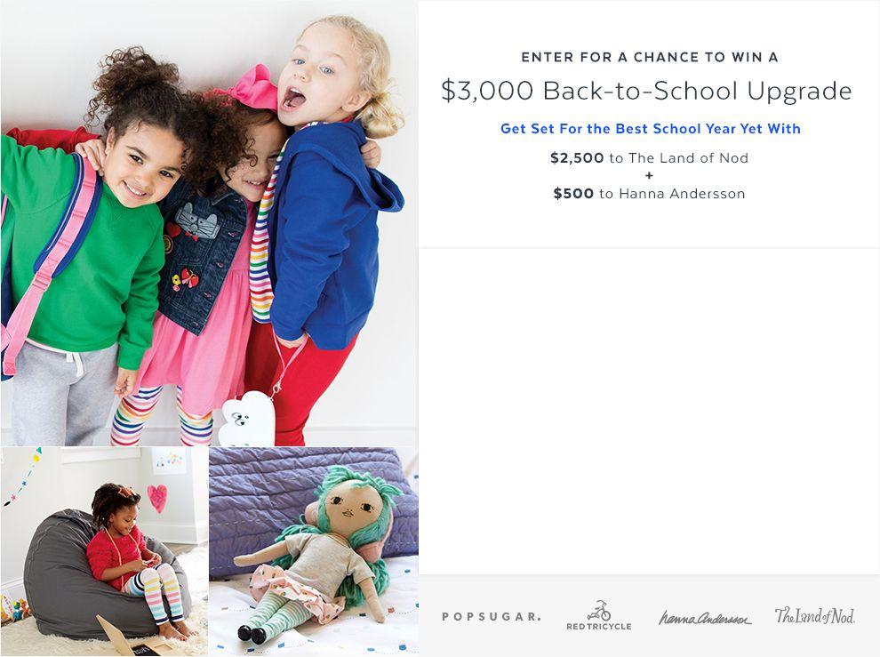 Win a $3,000 Back-to-School Upgrade | PopSugar and School