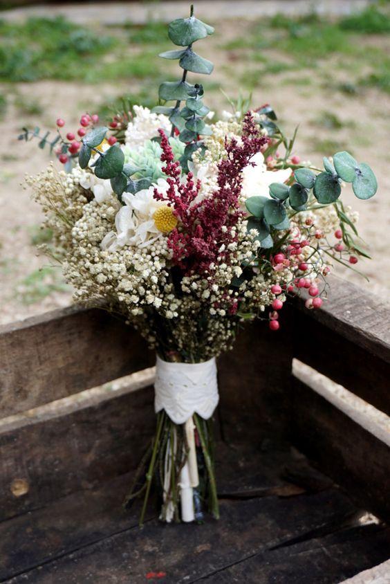 Precioso Ramo De Flores Silvestre Para Tu Boda Inspírate En Nuestro