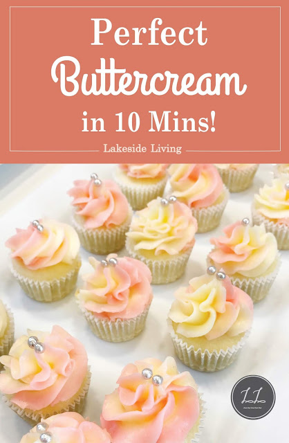 Perfect Buttercream Frosting Recipe In 2019 Cupcake