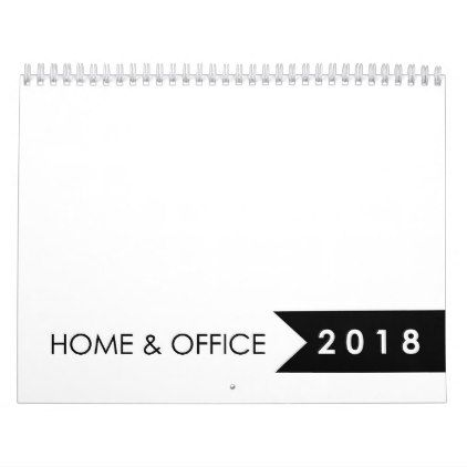 Personalized 2018 Blank Calendar - family gifts love personalize