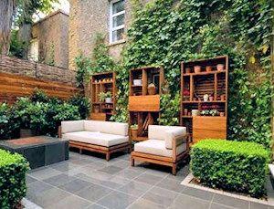 Beautiful back garden in Notting Hill