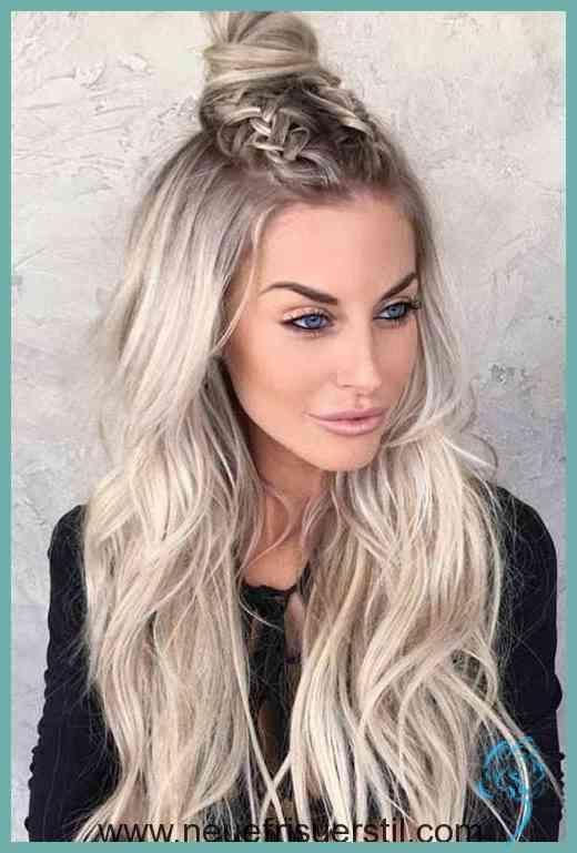 Lange Blonde Haare Frisuren | Damen Frisuren | Frisuren