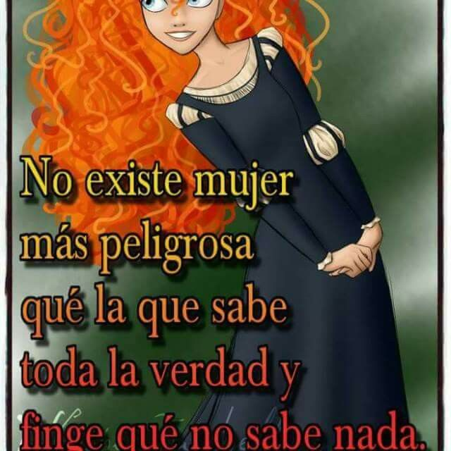 No existe mujer...