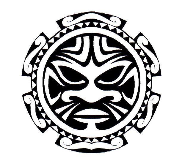 image result for polynesian skull image tattoo ideas. Black Bedroom Furniture Sets. Home Design Ideas