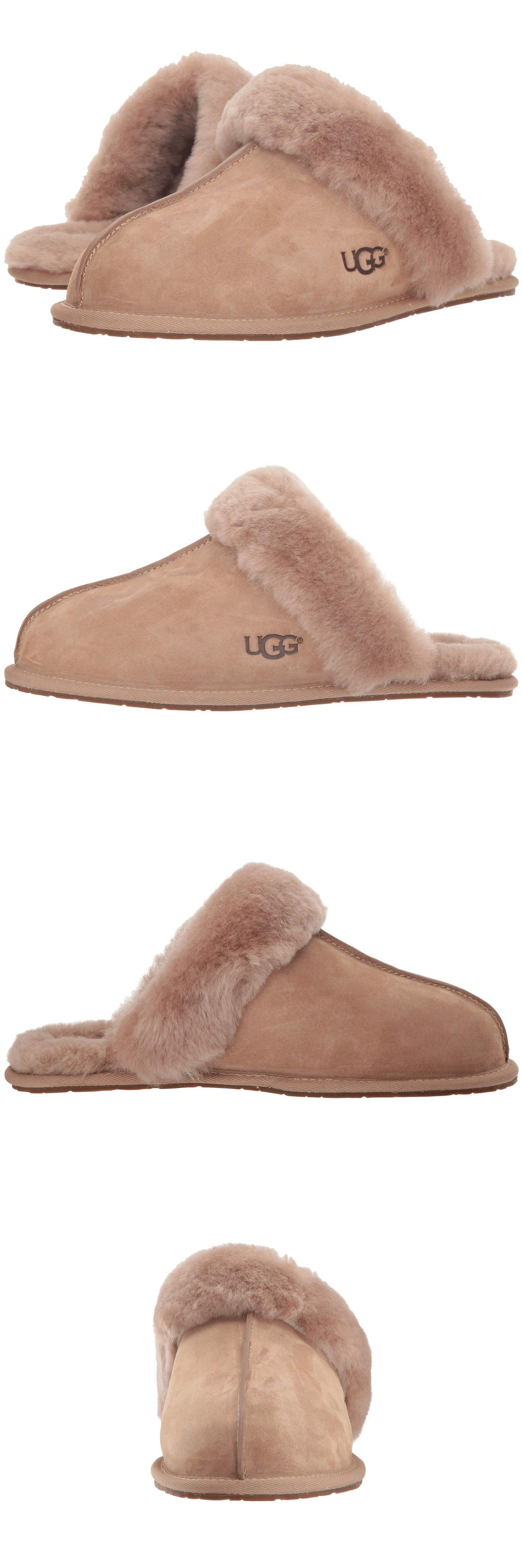 82f0b6be151 Slippers 11632  Women Ugg Scuffette Ii Slipper 5661 Fawn Suede 100%  Authentic Brand New -  BUY IT NOW ONLY   75.92 on  eBay  slippers  women   scuffette ...