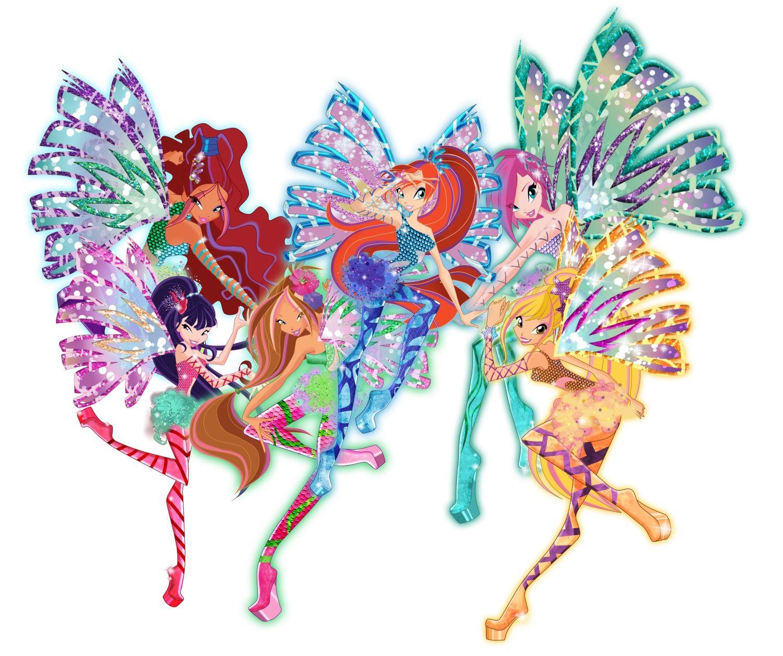 Winx Club All: Preciosos fan arts Winx Club Sirenix 2D