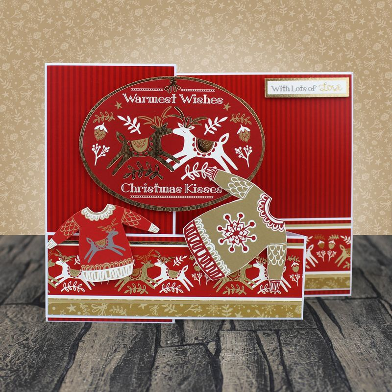 Hunkydory Seasons Greetings Luxury Topper Collection