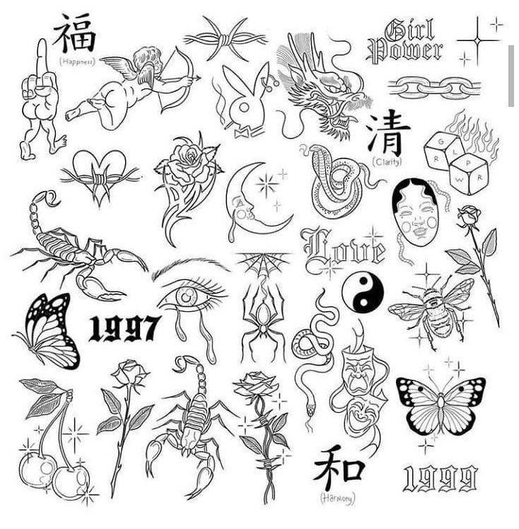 retro art tattoo