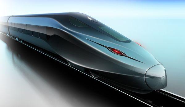 high speed train on Behance   Train