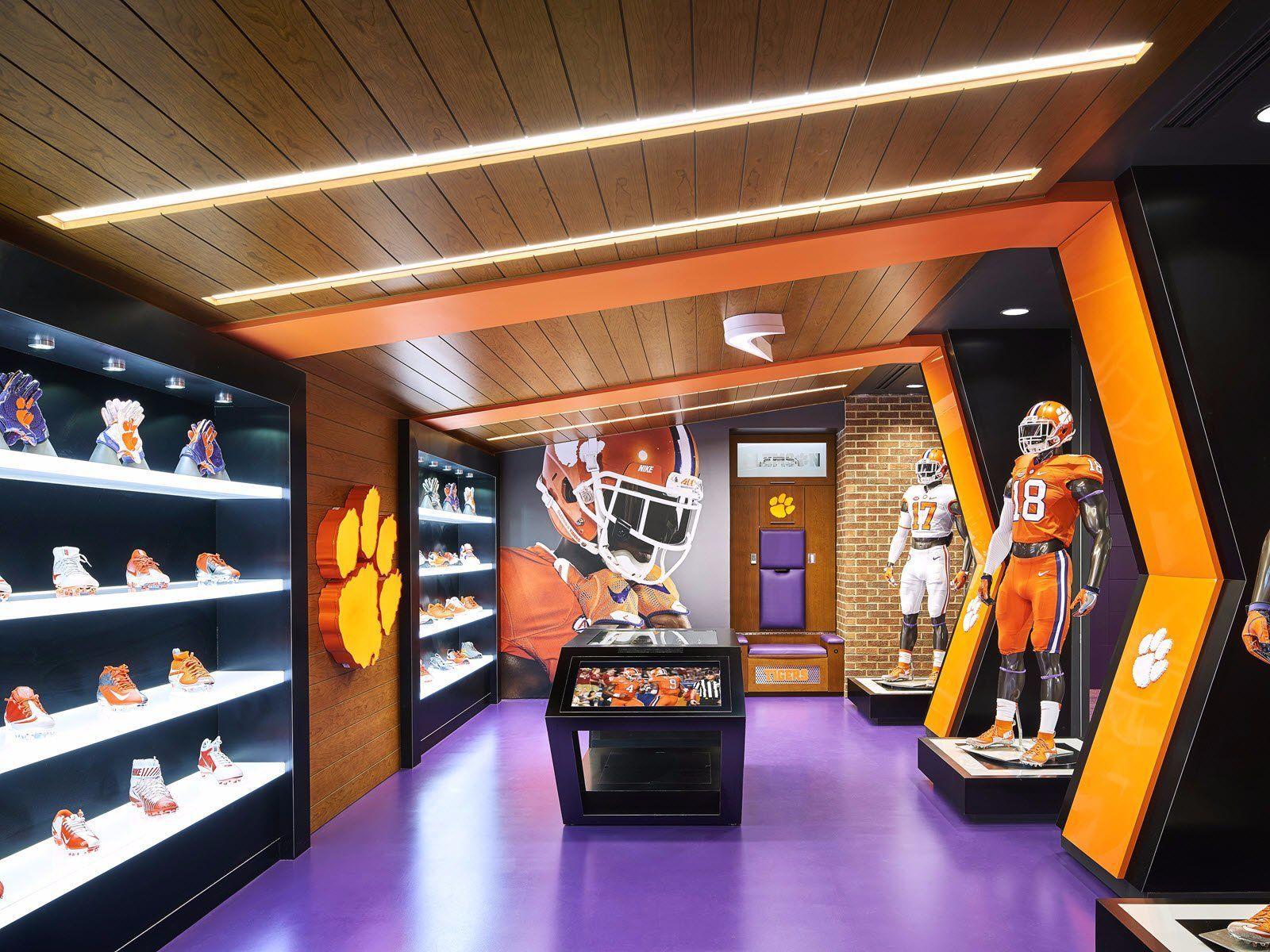 Photos Clemson S 55 Million Football Facility Business Insider Sports Training Facility Clemson Football Sports