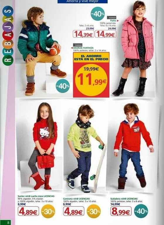 moda infantil alcampo