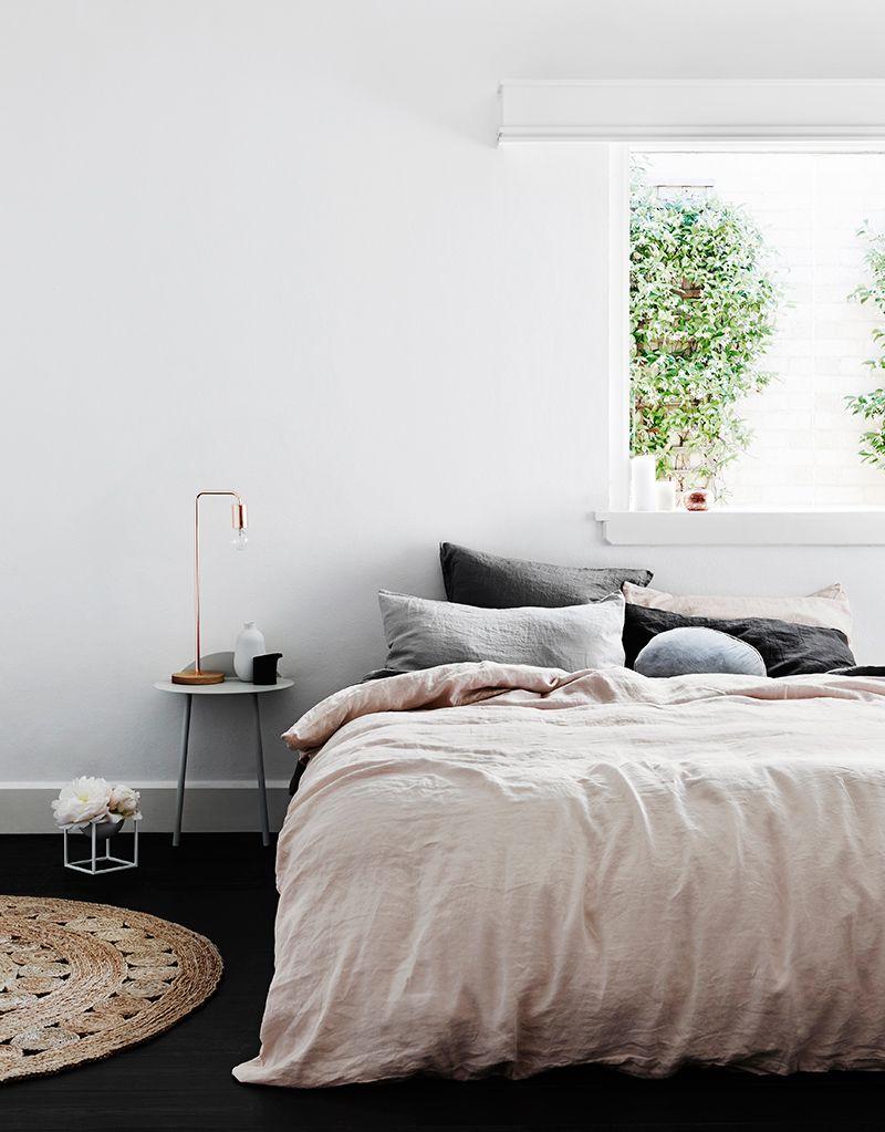 linge de lit rose poudré Inspiration poudrée pour du linge de lit | Bedrooms, Interiors and  linge de lit rose poudré
