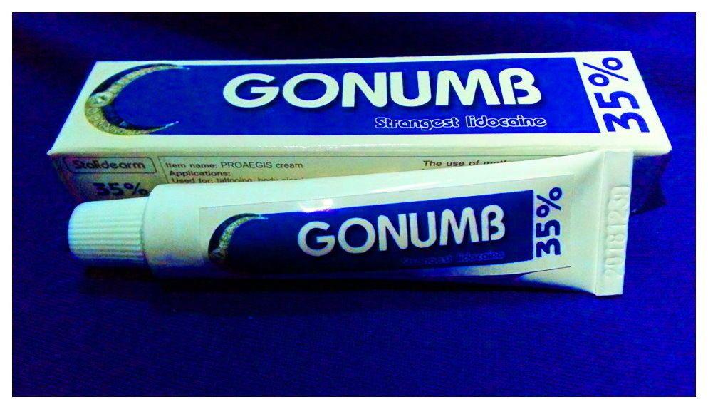 3 x gonumb tattoo numb cream strongest lidocaine