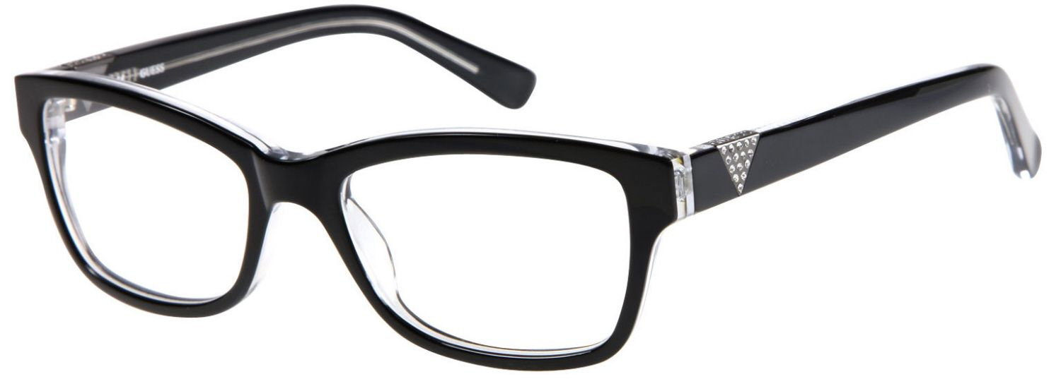 adaa1f4a2c Guess - Eyeglasses - GU2294 - Women s Acetate - Rhinestone Accents Guess  Purses