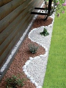 Diseno De Jardines Con Piedras Jardineria Pinterest Jardineria - Jardin-con-piedras