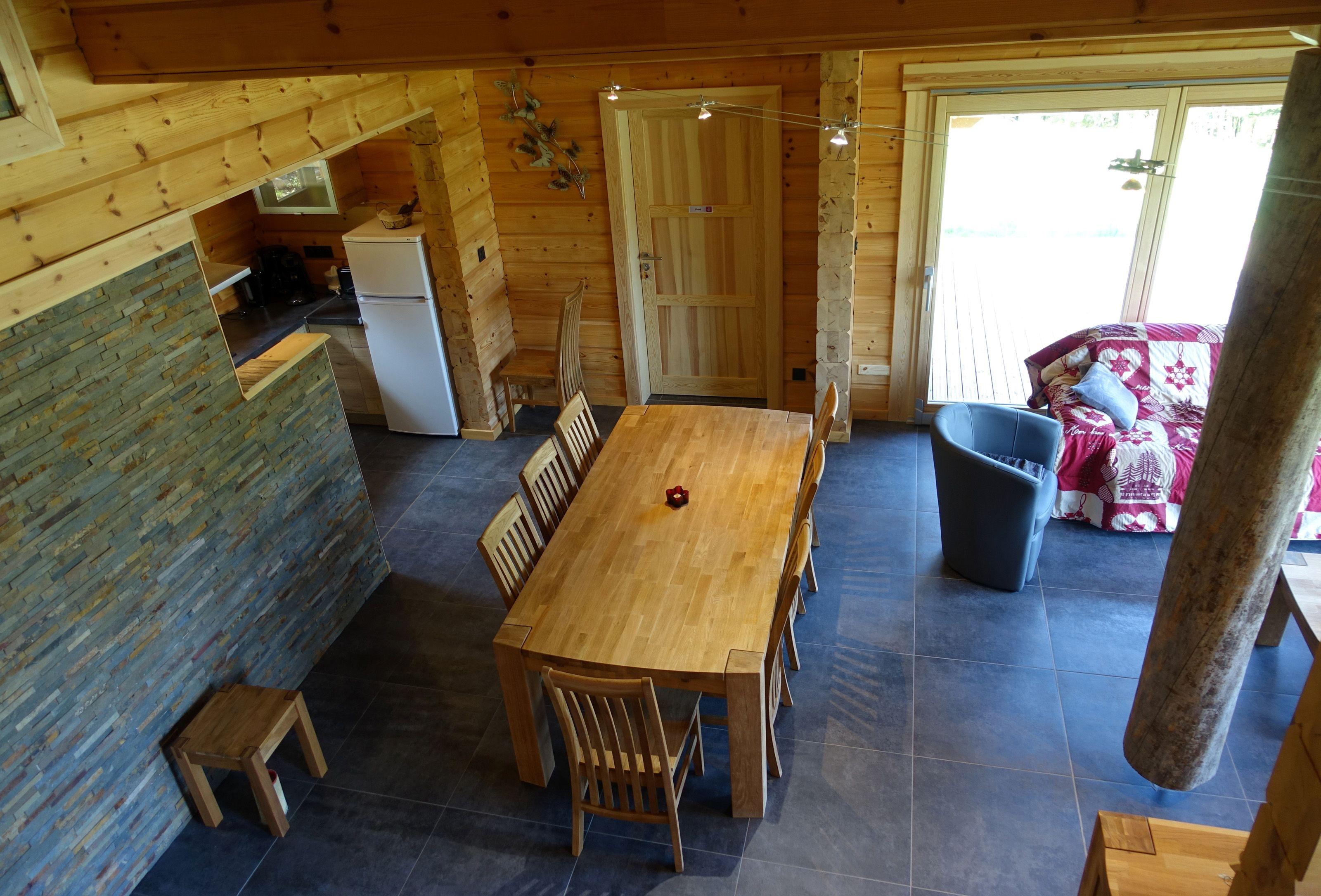 Interieur D Une Maison En Bois Passive Et Ecologique De Rovaniemi Maisons En Bois Maison Bois Maison En Bois Moderne Maison