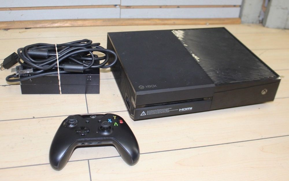 Microsoft Xbox One 1540 500gb Black Game Console Flat Black