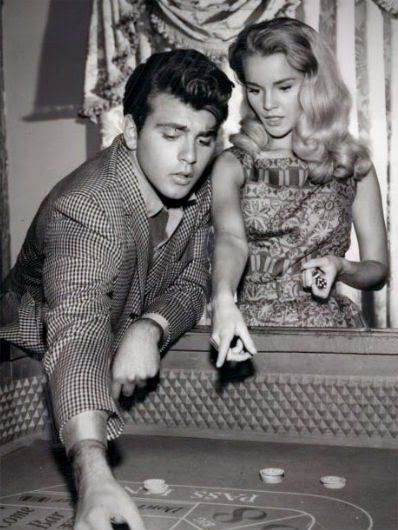 Fabian /& Tuesday Weld Hollywood Old Photo