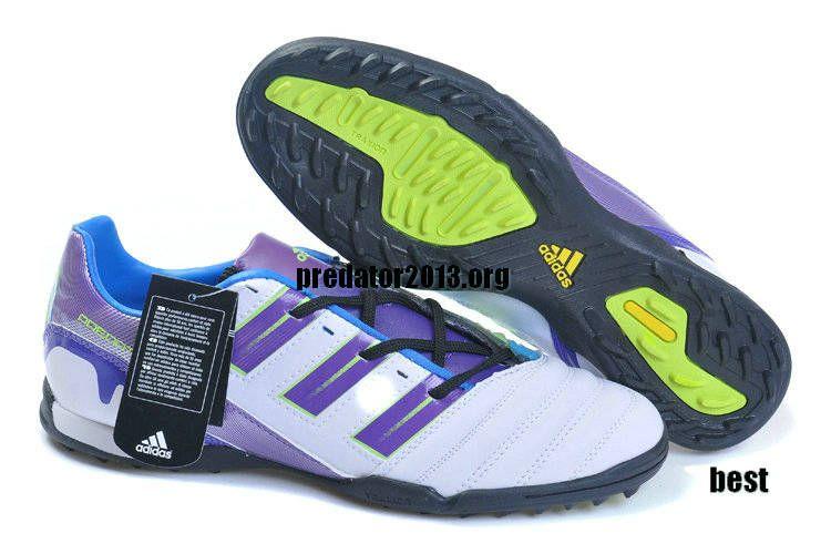 ... Adidas Predator 2012 Beckham TF Cleats White Purple Beckham Soccer Shoes  pretty nice 175ca 8ae28 ... 8219030706