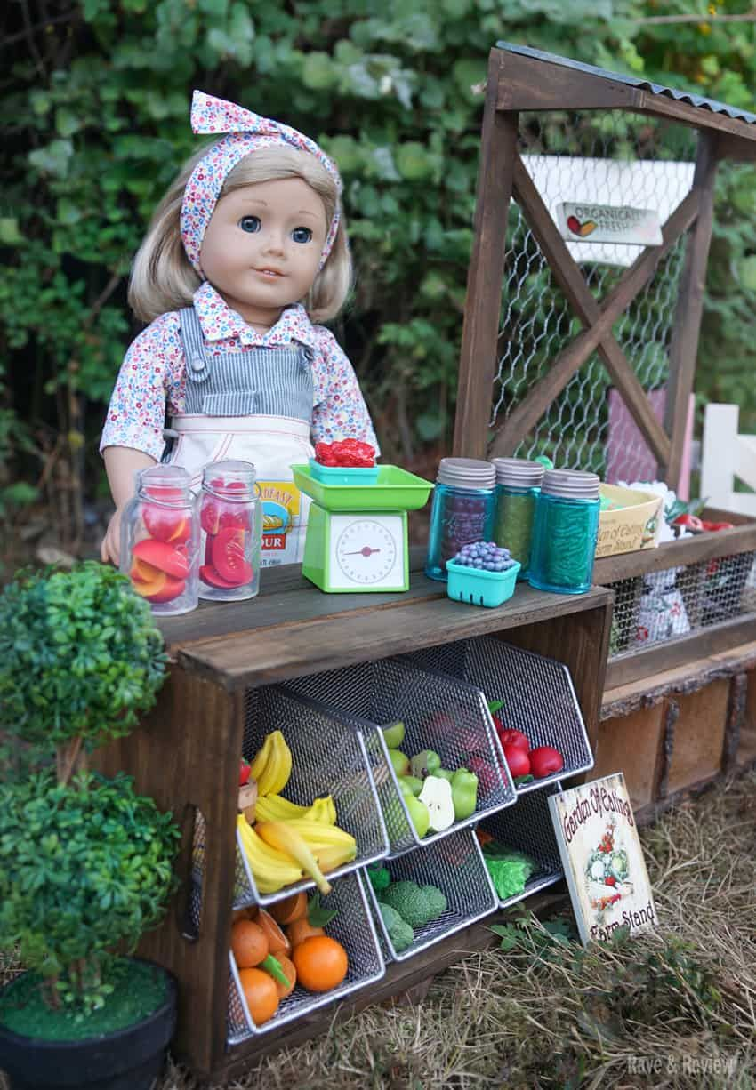 Kit's new garden accessories from American Girl American