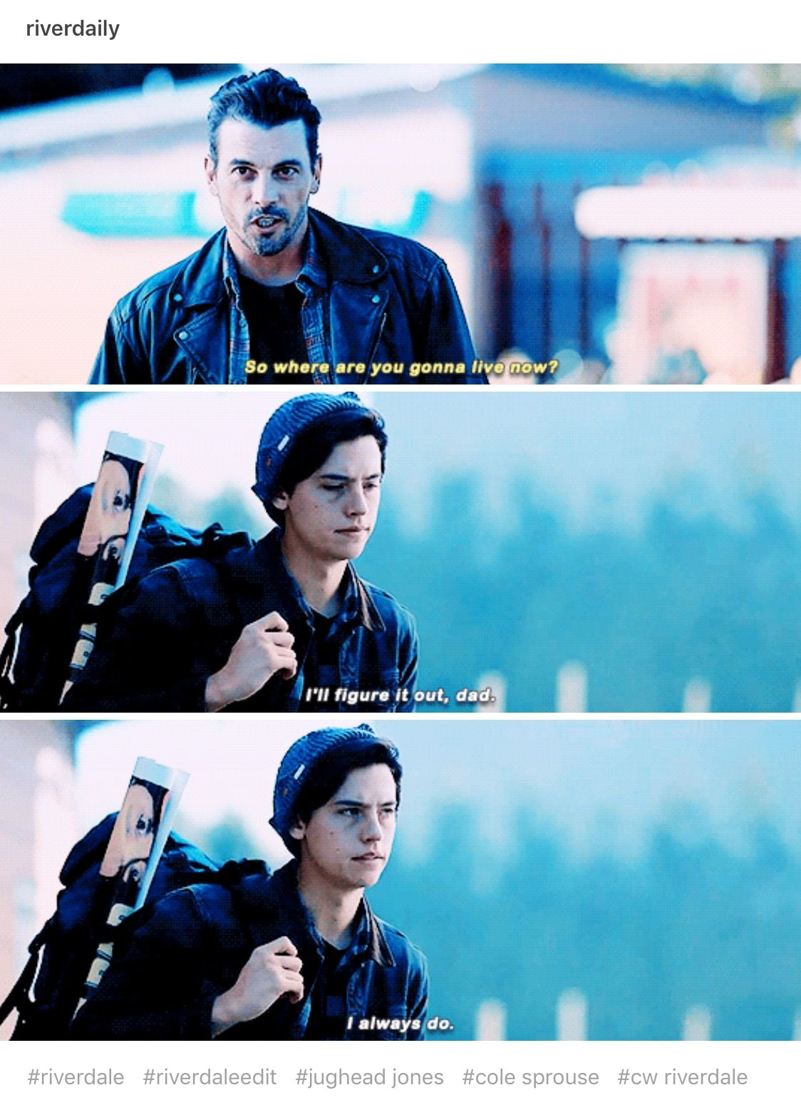 THIS WAS REALLY SAD AND ALSO JUGHEAD WAS REALLY ATTRACTIVE