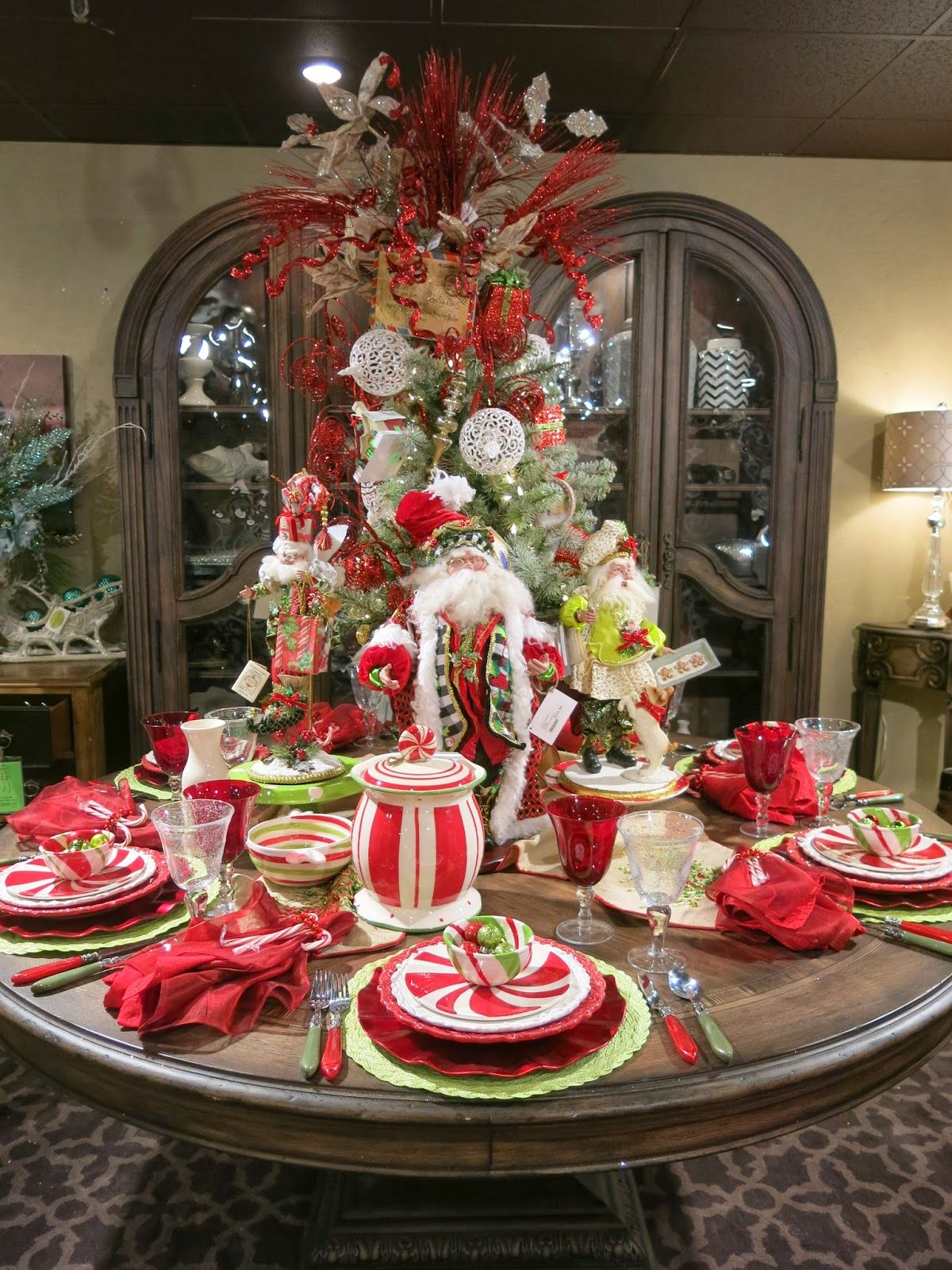 Open House Christmas Party Ideas Part - 26: Purple Chocolat Home: The Adult Table For Gatehouse No1u0027s Christmas Open  House