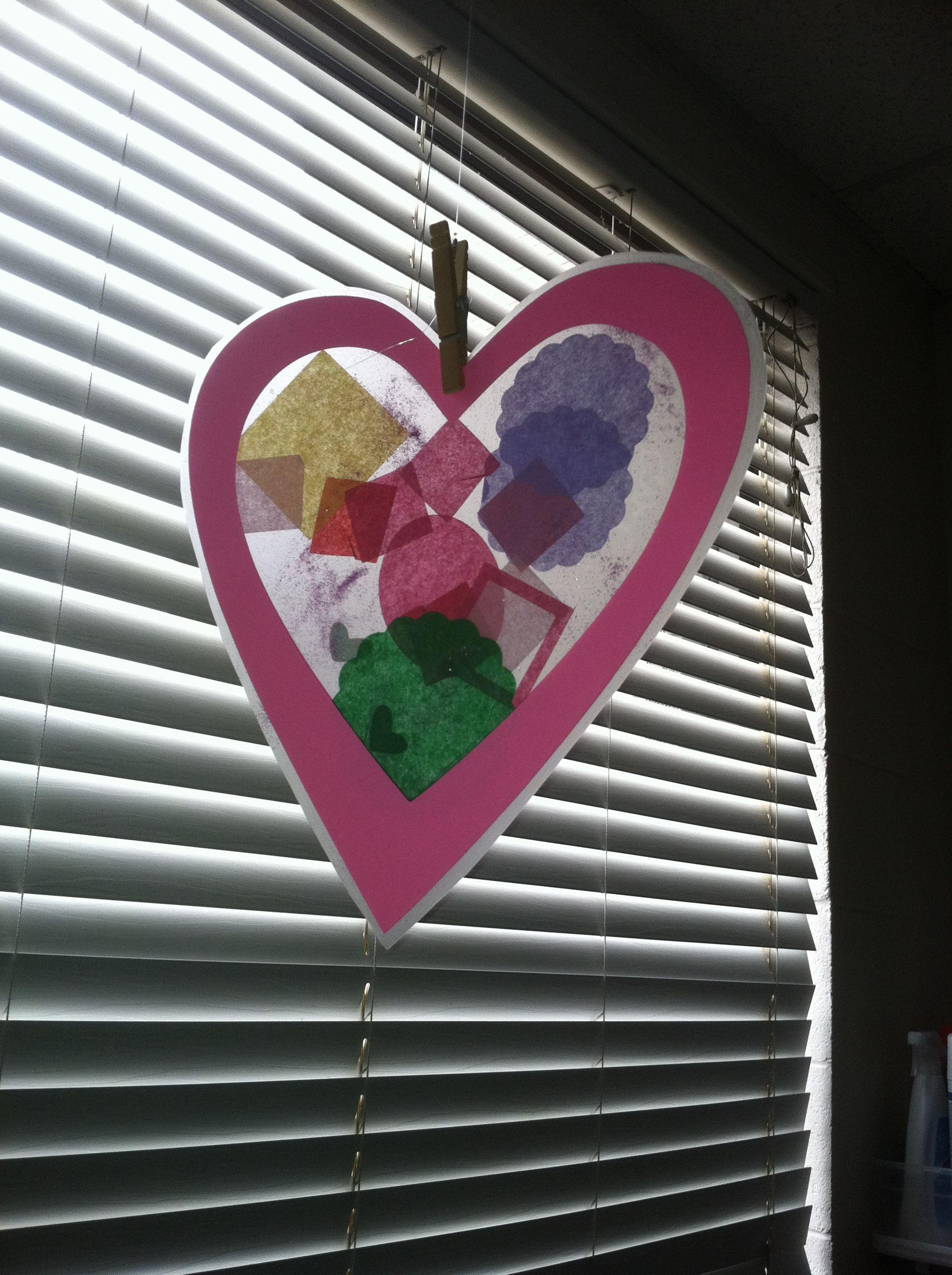 valentine heart collage