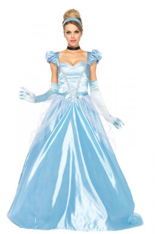 womens classic cinderella costume - Classic Womens Halloween Costumes