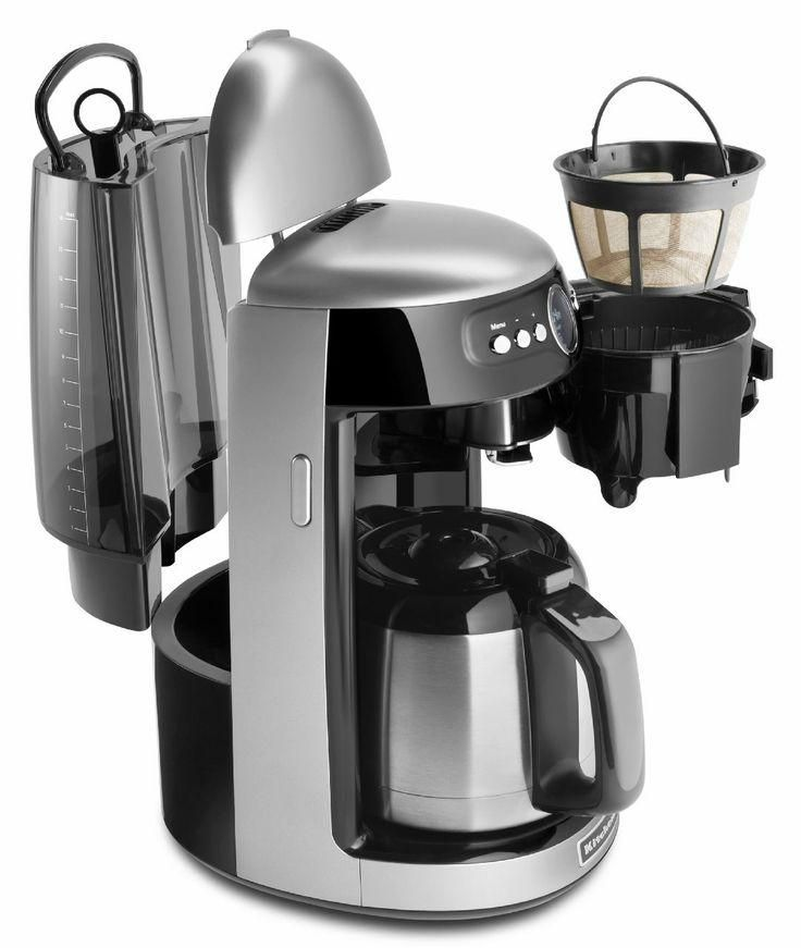 Kitchenaid 12 Cup Thermal Carafe Coffee Makers Feature A Dripless Spout And Offer Exceptional Performance I Percolator Coffee Kitchen Aid Coffee Maker Reviews
