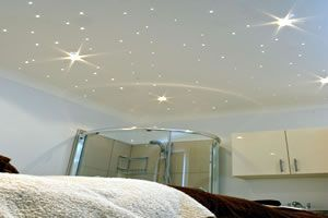 Must have for the basement decorating pinterest ceiling fibre optic star ceiling kits starry ceiling effect mozeypictures Image collections